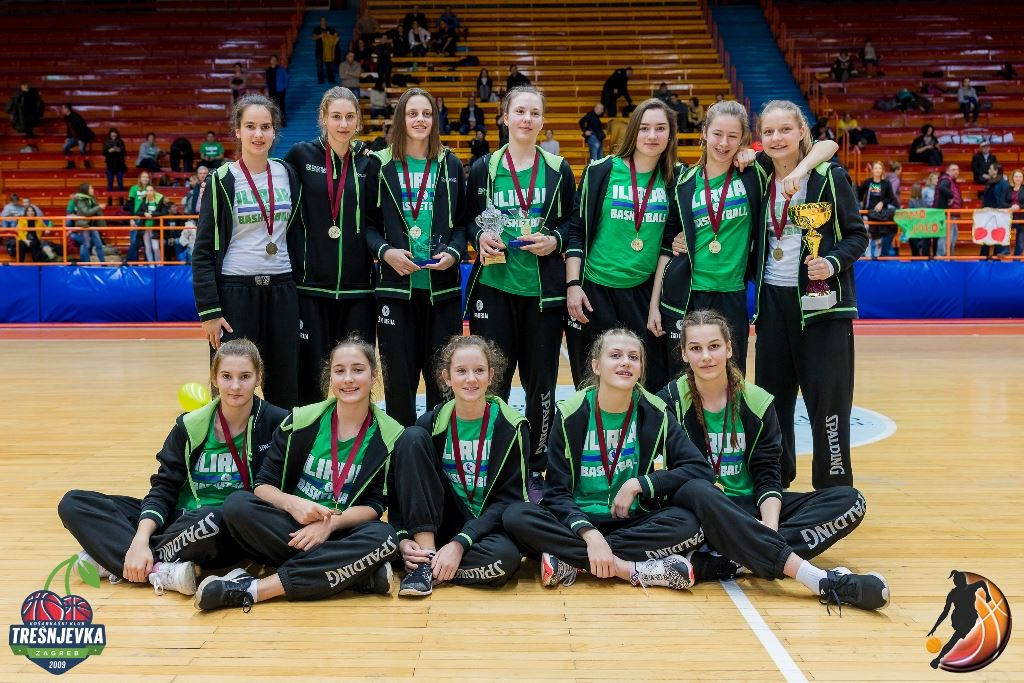 2017 WABA U15 champion Ilirija