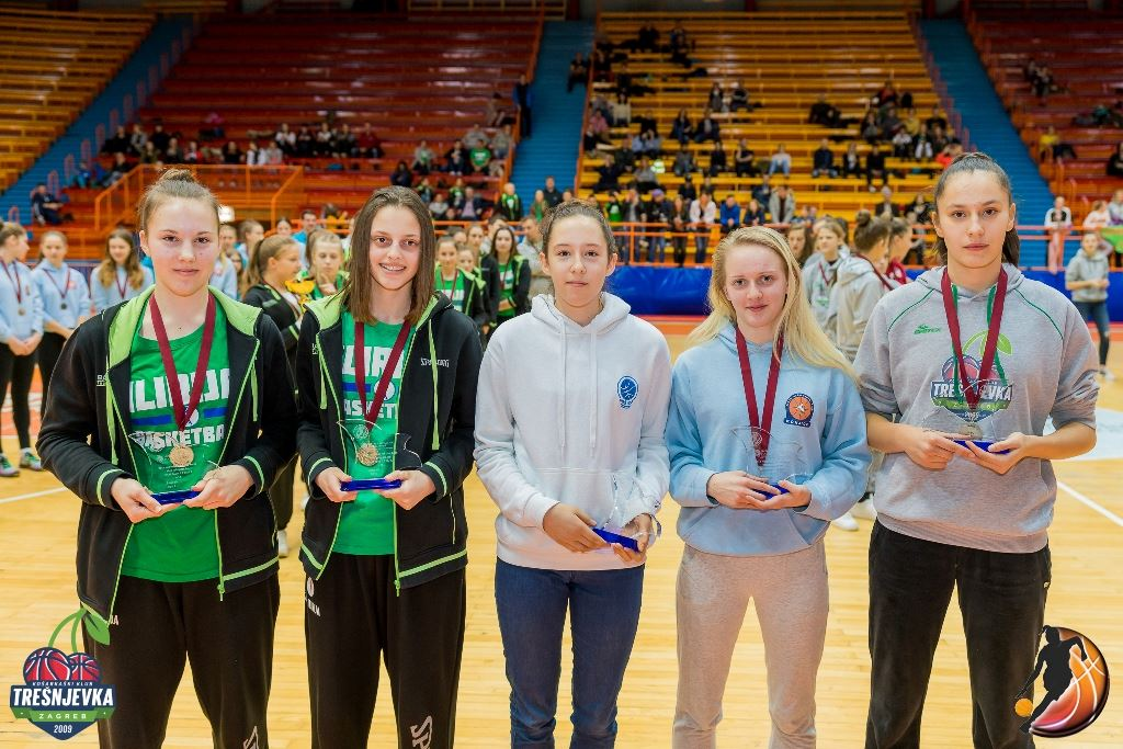 2017 WABA U15 All Final-Four team (Foto: Vedran Tolić)