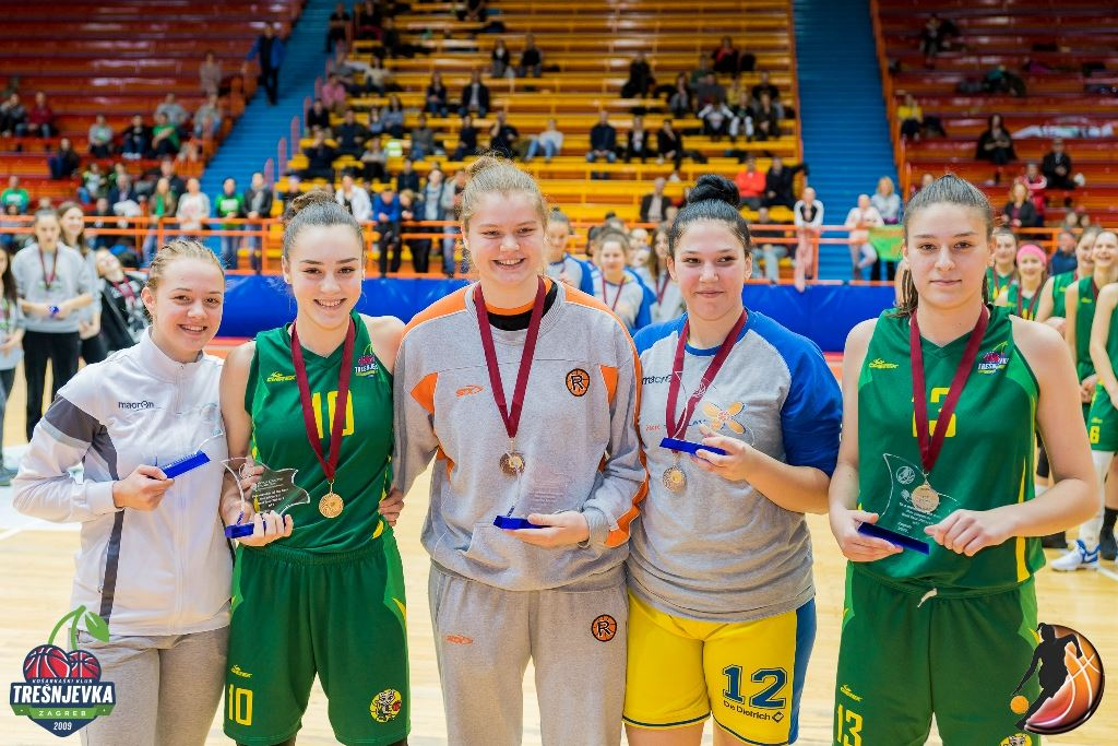 2017 WABA U17 All Final-Four team (Foto: Vedran Tolić)